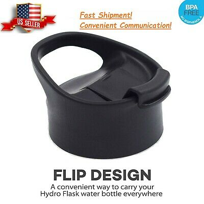 $6.99 • Buy Replacement Flip Lid For Hydro Flask Wide Mouth Water Bottle Coffee Lid Black
