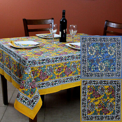 £32.47 • Buy Cotton French Country Floral Tablecloth Square Napkin Table Linen