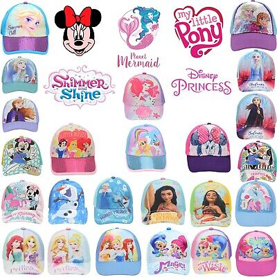 £11.49 • Buy Baseball Cap,Summer Sun Hat Minnie Mouse,Shimmer & Shine Girls' Accessories 3+Y