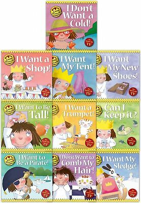 Little Princess Children Collection Tony Ross 10 Book Set I Want A Shop, I Want  • 14.49£