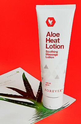£11.95 • Buy Forever Living Aloe Heat Lotion 118ml ×1 Tube NEW SEALED FREE FAST DELIVERY