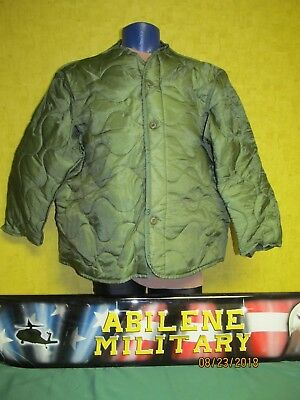 $28.85 • Buy US Military Army Cold Weather M65 Field Jacket Coat Liner Quilted XL NEW Issue