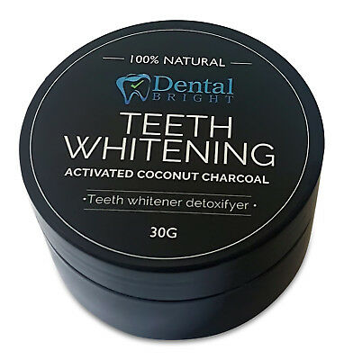 AU16.95 • Buy 2 X Activated Coconut Charcoal Teeth Whitening Powder