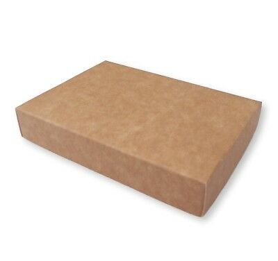10 Kraft A7 Gift Box Greeting Card, Gifts, Favour Boxes, Jewellery, Photographs • 4.99£
