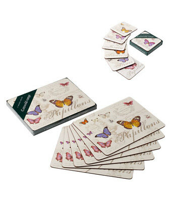 NEW Butterfly Dining Tablemats Drinks Coasters Placemats Set Table Place Mat • 7.99£