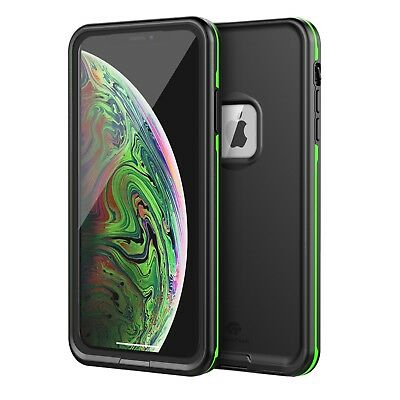 For Apple IPhone XS Max XR Waterproof Case Cover Fre Built-in Screen Protector X • 13.02£