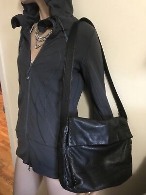 $ CDN35 • Buy Danier Leather Shoulder Bag Black Handbag