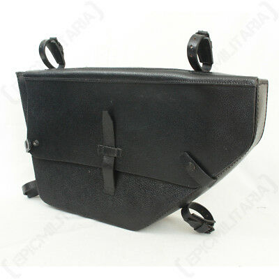 Swiss Army Bicycle Trapezoid Bag - Luggage Cycling Vintage MO5 Leather Repro New • 130.95£
