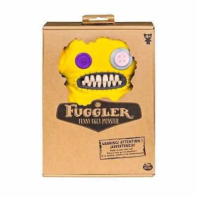$ CDN19.02 • Buy Spin Master FUGGLER Funny Ugly Monster Fuzzy Yellow Grump Medium Brand New B