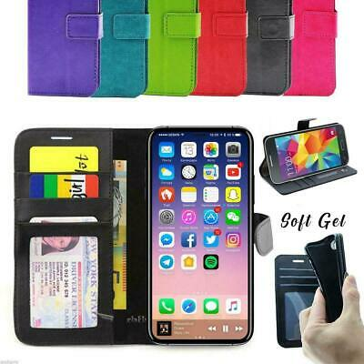 AU8.96 • Buy For IPhone 11 Pro XS MAX XR X Card Holder Leather Wallet Flip Case Phone Cover