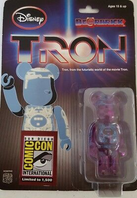 $60 • Buy Tron Bearbrick 2010 San Diego Comic Con Limited Run Of 1500- MEDICOM TOY