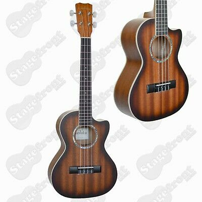 AU259 • Buy Ukulele Cordoba Tenor Cutaway Uke All Mahogany With Pickup *brand New*