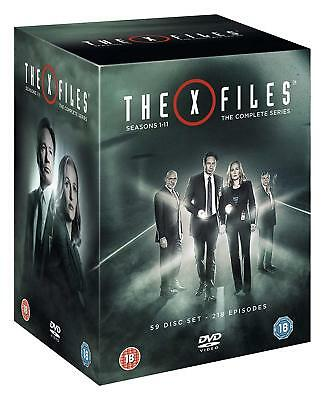 AU129.98 • Buy The X Files Complete Series Collection 1-11 Dvd Box Set 59 Disc R4  New&sealed