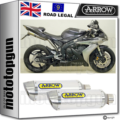 $736.55 • Buy Arrow 2 Exhaust Homologated Thunder Aluminium Yamaha Yzf 1000 R1 2004 04 2005 05