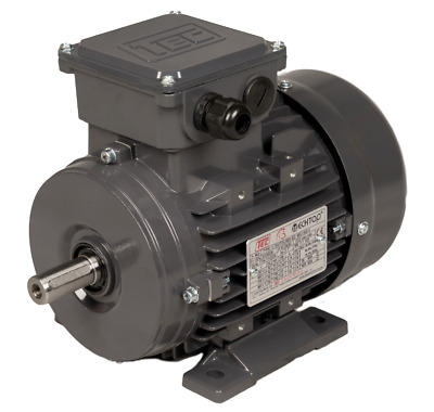 TEC 3 Phase TEFC IE2 Motor 230/400V 50HZ Foot Flange Or Face Mount 0.37kw To 3kw • 75.79£