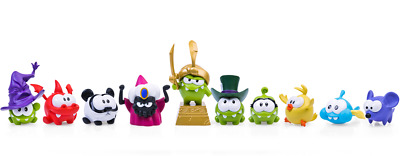 £49.99 • Buy Cut The Rope Magic Awesome Set Of 10 Figures (4-6cm) From PROSTO TOYS