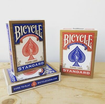 Bicycle Svengali Deck | Short And Long | Blue & Red | CHOOSE YOUR FORCE CARD • 7.99£
