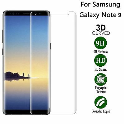 $ CDN3.39 • Buy New 3D Samsung Galaxy Note 9 100% Genuine Tempered Glass Screen Protector Clear