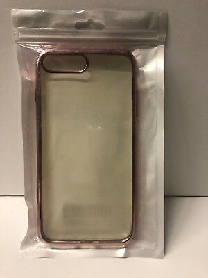 AU9.77 • Buy IPhone 7 Plus Case/iPhone 8 Plus Case With Clear Backing (Colors May Vary)