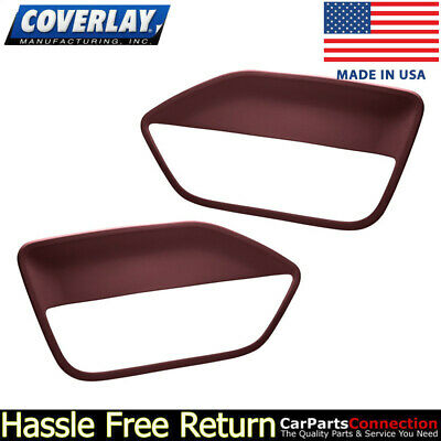 $143.31 • Buy Coverlay - Replacement Door Panel Insert Maroon 12-59-MR For Ford Mustang