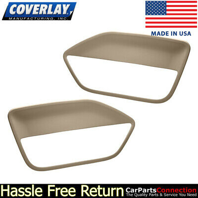$143.31 • Buy Coverlay - Replacement Door Panel Insert Medium Brown 12-59-MBR For Ford Mustang