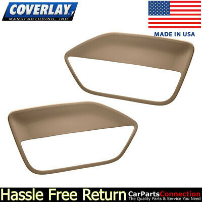 $143.31 • Buy Coverlay - Replacement Door Panel Insert Light Brown 12-59-LBR For Ford Mustang