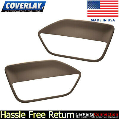 $143.31 • Buy Coverlay - Replacement Door Panel Insert Dark Brown 12-59-DBR For Ford Mustang