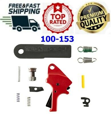 $166.20 • Buy Apex Tactical Flat Faced Forward Set Trigger Kit For M&p M2.0 9mm .40 .45 - Red