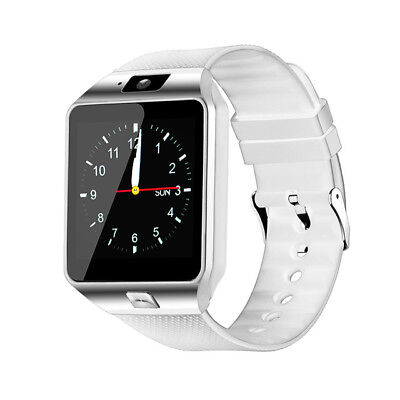 AU19.33 • Buy Bluetooth Smart Watch With Camera Mic Texting Calling Music Player Sim Support