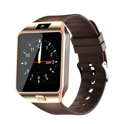 $ CDN18.73 • Buy Bluetooth Smart Watch With Camera Mic Texting Calling Music Player Sim Support