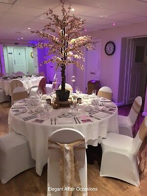 5ft Blossom Tree For Hire Wedding Table Centrepiece Venue Decoration Pink White • 20£