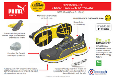AU149 • Buy PACE 2.0 SAFETY RUNNER PUMA Boot 643807 'Preferred Supplier'