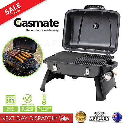 AU106.07 • Buy Gasmate Voyager Portable BBQ Grill Stove Oven Picnic Foldable Camping Outdoor