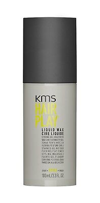 AU27.95 • Buy Kms Hairplay Liquid Wax 100 Ml Hair Play