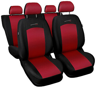 £33.99 • Buy Car Seat Covers Fit BMW 3 Series - Full Set Black/red Sport Style