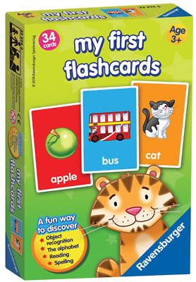 £9.03 • Buy Baby Gift First FlashCard Ravensburger Learning Game Book For Kid,Toddler &Child