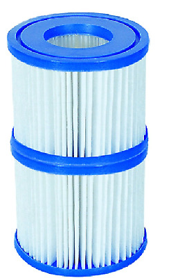 2 Pack Filter Cartridge Lay Z Lazy Hot Tub Spa Filters For All Lay Z Spas ONLY • 8.99£