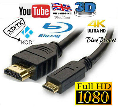 AU5.33 • Buy Argos Bush MyTablet HDMI CABLE LEAD FOR CONNECT TO HD TV