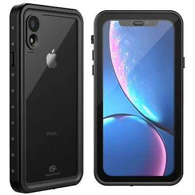 For Apple IPhone XR Xs Max X Life Waterproof Shockproof Case W/ Screen Protector • 12.95£