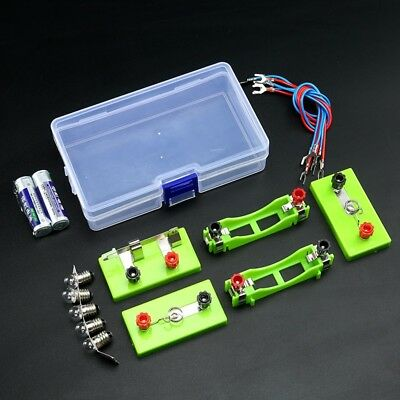 AU25.75 • Buy Electric Circuit Kits Children Science Toys DIY Montessori Learning Experiment