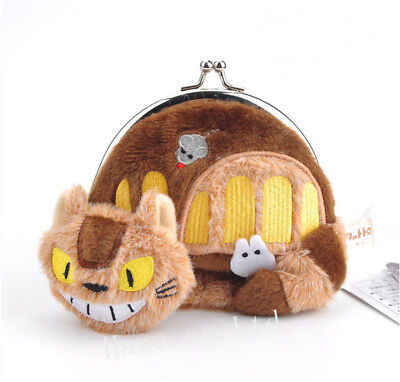 £5.99 • Buy Studio Ghibli Anime My Neighbor Totoro Cat Bus Coin Purse Wallet Gift