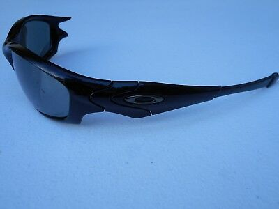 a40c0ab330 Authentic Oakley Straight Jacket Men s Black Sunglasses MISSING ARM • 31.95