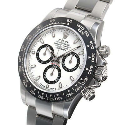 $ CDN36865.15 • Buy Rolex Daytona 116500 Stainless Steel Ceramic Bezel White Dial 40mm Watch