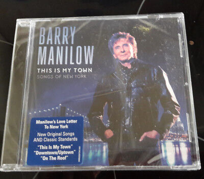 Barry Manilow This Is My Town Songs Of New York - Factory Sealed CD • 4.49£