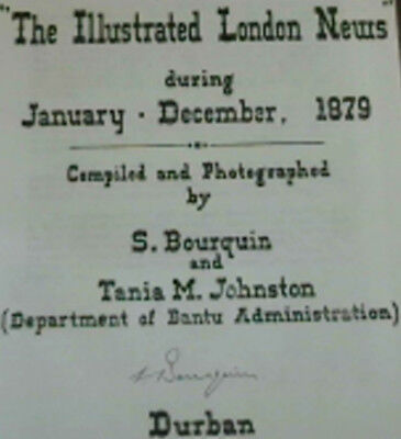 The Zulu War Of 1879 As Reported In  The Illustrated London News  During Janua.. • 180.44£