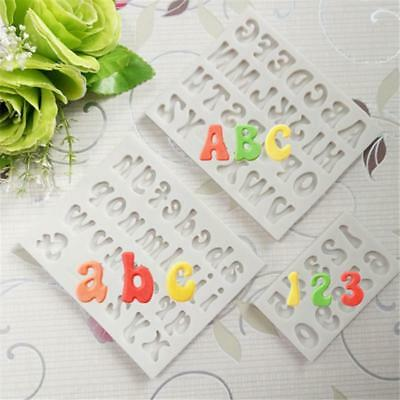 £1.96 • Buy Alphabet Letter Silicone Cake Decorating Fondant Icing Mould Sugarcraft Cutter T