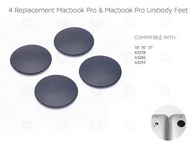£2.99 • Buy Apple MacBook Pro Unibody Replacement Feet & Adhesive A1278 A1286 A1297 Parts