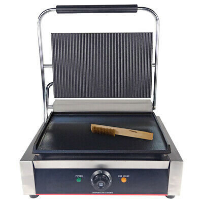 Electric Panini Grill Press Contact Grill BBQ Griddle  Sandwich Toaster Maker  • 141£
