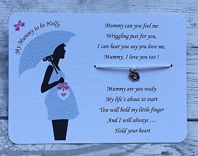 Parents To Be Card, Baby Bump Mummy To Be Card Sash Personalised Gift  Card New • 3.45£