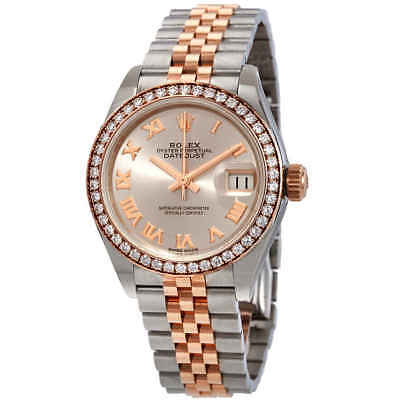 $ CDN18039.82 • Buy Rolex Lady Datejust Sundust Dial Automatic Ladies Steel And 18K Everose Gold